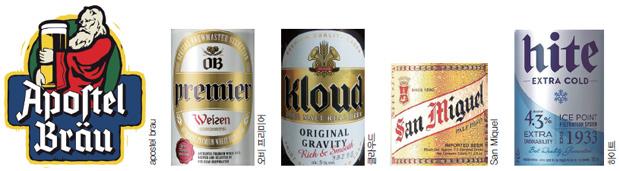 맥주서체들
