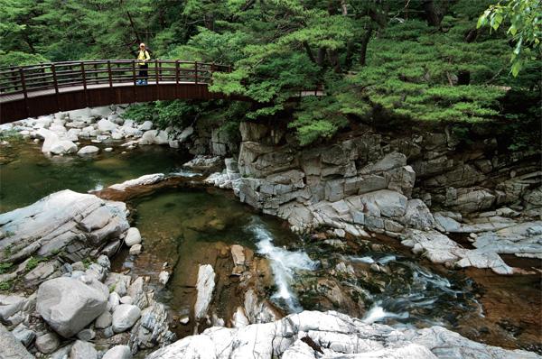 가야산 홍류동 계곡