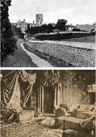 미국 사진작가 윌리엄헨리 잭슨이 한국을 찾은 1896년에 촬영한 사진이다. 미국공사관(현미국대사관저) 북쪽에서 러시아공사관 동쪽을 바라본 이 장면에는 덕수궁 돌담길이 보인다.