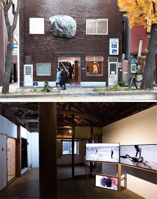 2007년 문화예술공간으로 거듭난 보안여관 외관