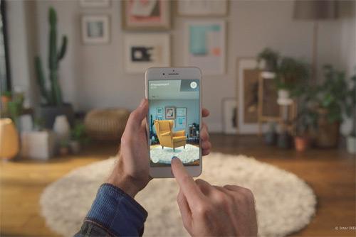 스웨덴 가구업체 이케아(IKEA)가 증강현실 기술을 활용한 모바일 앱을 출시했다.