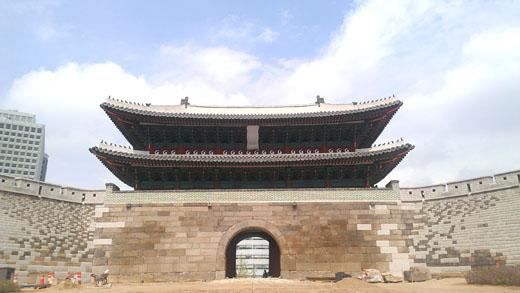 5년 3개월만에 우리 곁으로 돌아온 국보 1호 숭례문.