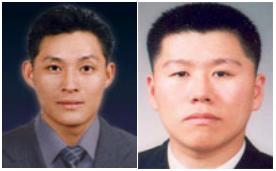 故 심재호 경위(왼쪽)와 故 이재현 경장.