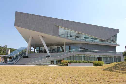국립한글박물관 건물 외관.