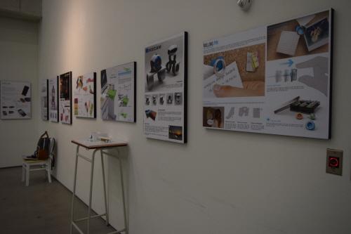 제 1회 창조 디자인 어워드에 출품된 작품들은 일반인들에게 공개되어 자유롭게 관람할 수 있었다.