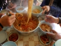 포항 구룡포 모리국수와 과메기