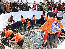 최고의 겨울 축제 '화천산천어축제'