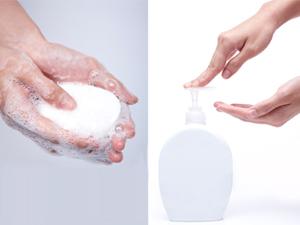 비누 vs 손 세정제, 효과 차이는