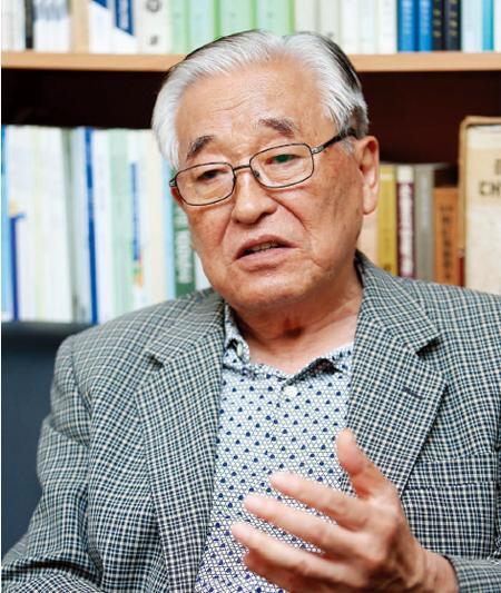남북이산가족협회 심구섭 회장.