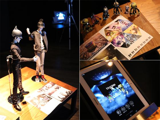 버추얼 뮤지션 일렉트로닉 팝밴드 WIMP와 노래하는 토이밴드 로봇 토글스