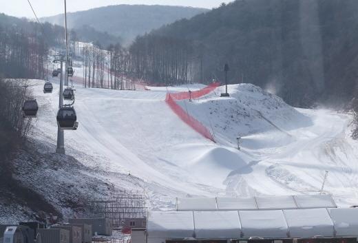 강원도 정선 알파인 경기장에서는 오는 2월 6∼7일 알파인스키 남자 월드컵이 열릴 예정이다.
