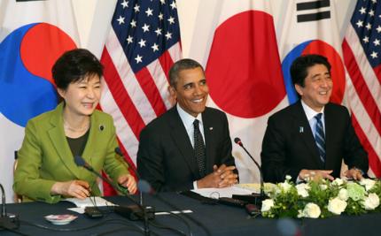 박 대통령, 오바마·아베와 통화…'강력·실효적 대북제재' 공조