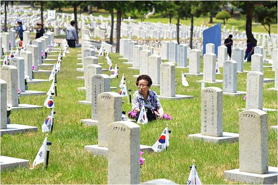 6·25 전사자 묘역 (제공: 국립서울현충원)