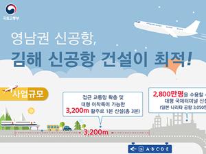 영남권 신공항, 김해 신공항 건설이 최적!
