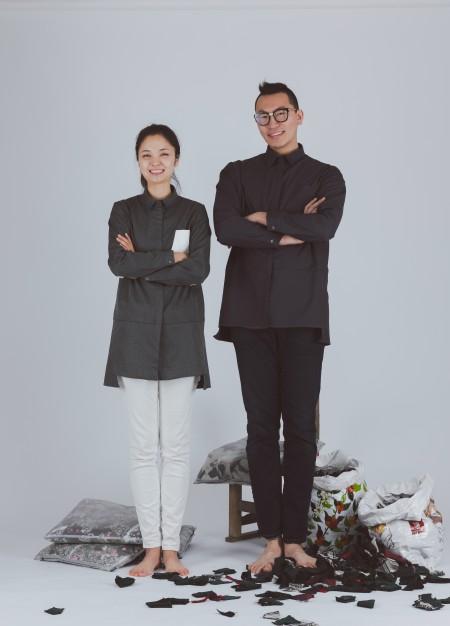000간 신윤예(왼쪽), 홍성재 대표.