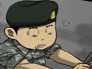 [말년이다] 운전병(오싹한이야기3)