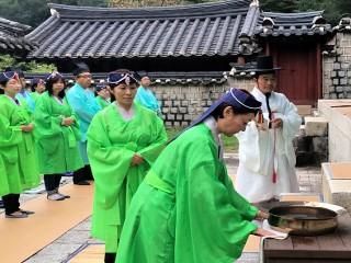일본 여배우의 남다른 한국 사랑