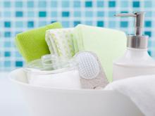 욕실의 샤워타올은 세균 온상