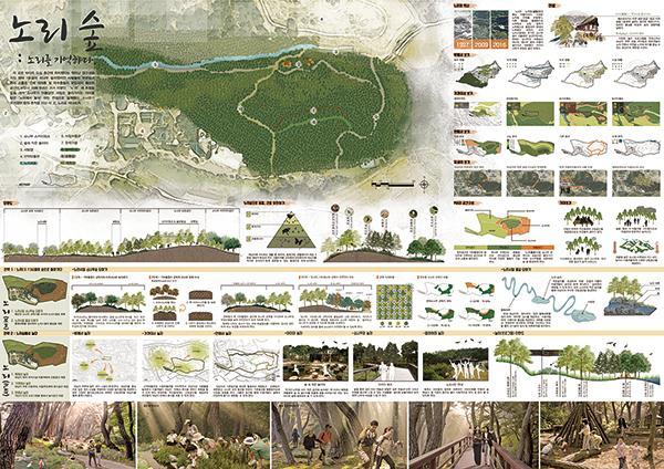 산림청, '도시숲 설계 공모대전' 수상작 선정