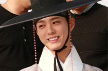 경복궁에서 박보검과 함께 '구르미 그린 달빛'