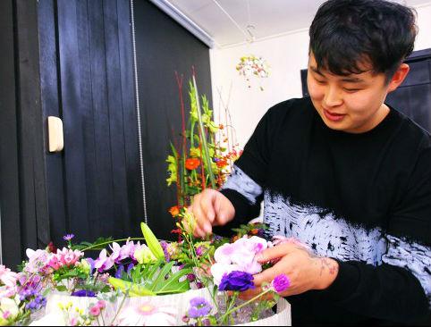 나는 꽃 국가대표다!