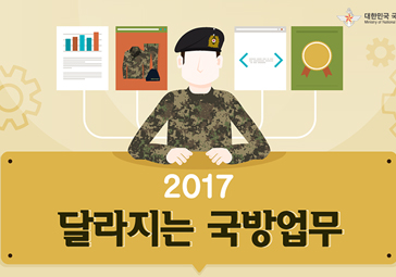2017년 달라지는 국방업무