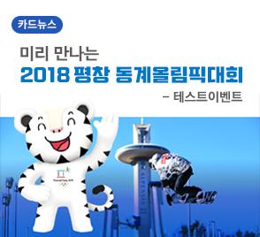 미리 만나는 2018 평창 동계올림픽대회