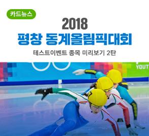 2018 평창 동계올림픽대회 테스트이벤트 종목 미리보기 2탄