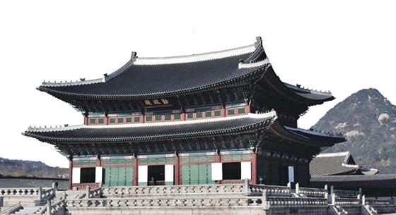 경복궁 근정전.