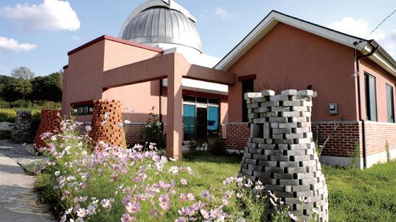 충남 서산 별마을의 천문관측소.(사진=서산시)