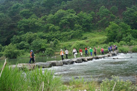 섬진강 길 걷기여행.
