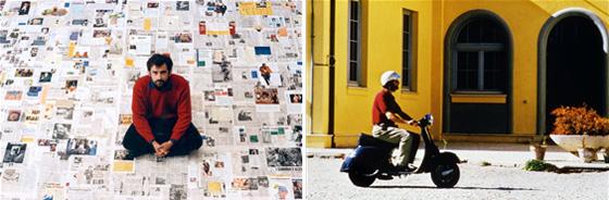 국립현대미술관은 오는 12일부터 5월 20일까지 '이야기의 재건4: 다중구조, 이것 또는 저것'을 개최한다. 알랭 레네, 난니 모레티, 홍상수 감독이 들려주는 삶의 아이러니와 우연성을 선보인다. 사진은 난니 모레티의 <나의 즐거운 일기/4월> 작품. (사진 = 국립현대미술관)