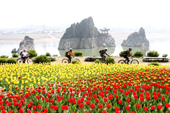 봄 여행주간을 맞아 단양에서는 힐링을 주제로 단양 걷기여행 축제가 열린다. (사진 = 단양군)
