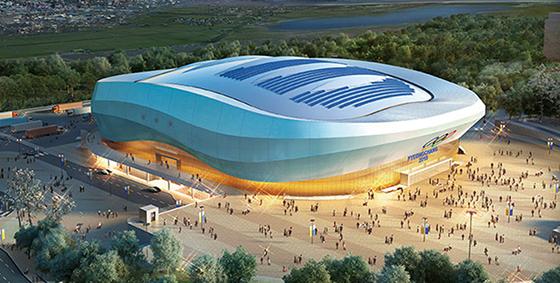 강릉 아이스아레나 경기장