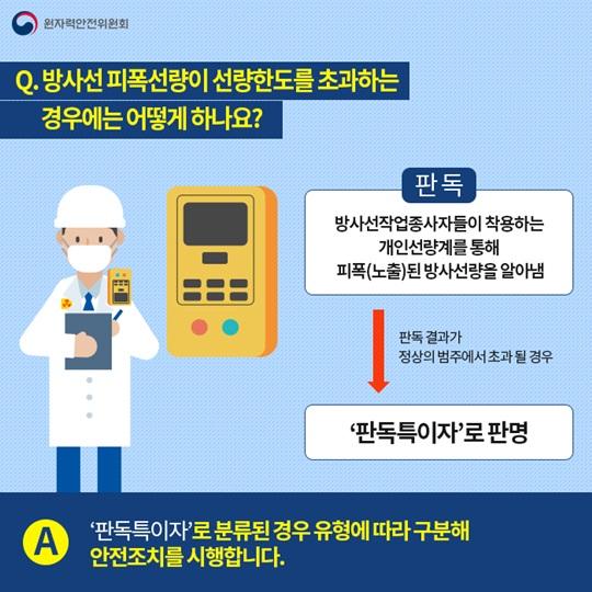 방사선작업종사자 안전관리 어떻게 이뤄질까?