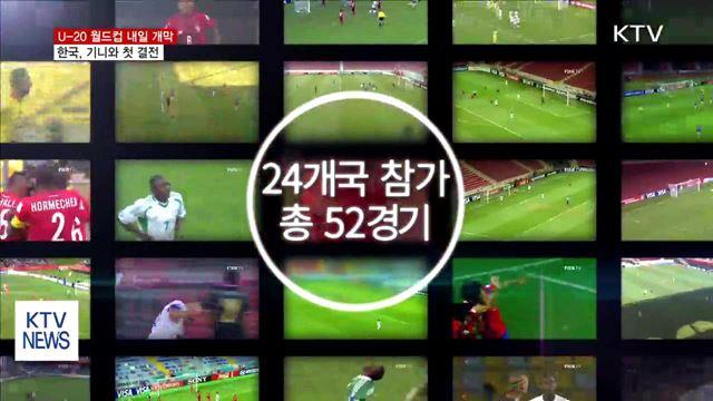 U-20 월드컵 내일 개막…한국, 기니와 첫 대결