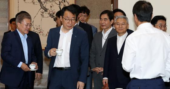 '달라진 청와대' 몇 가지 장면들