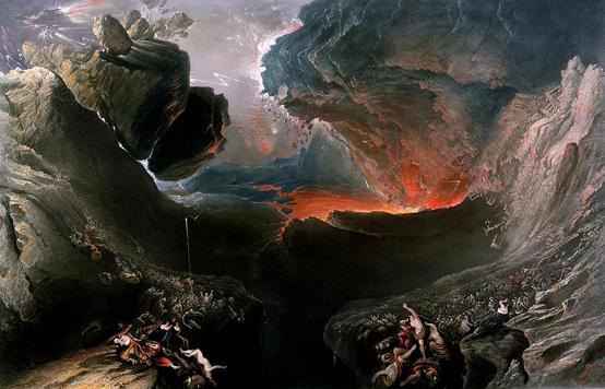 19세기 영국의 급격한 공업화에 대한 분노를 담은 화가 마틴 존의