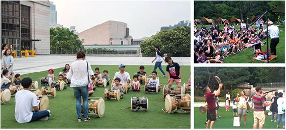 국립국악원 야외 공연장에서 6월말부터 9월말까지 '우면산 별밤 축제'가 열린다. (사진 = 국립국악원)