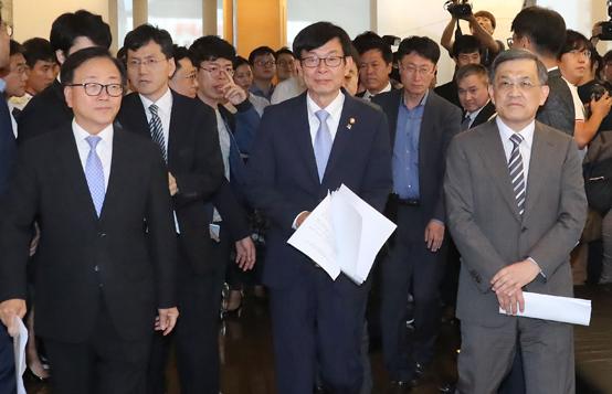 공정위원장-4대그룹 전문 경영인 정책 간담회