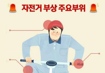 """자전거 사고 조심하세요!…절반은 """"부상 경험 있다"""""""