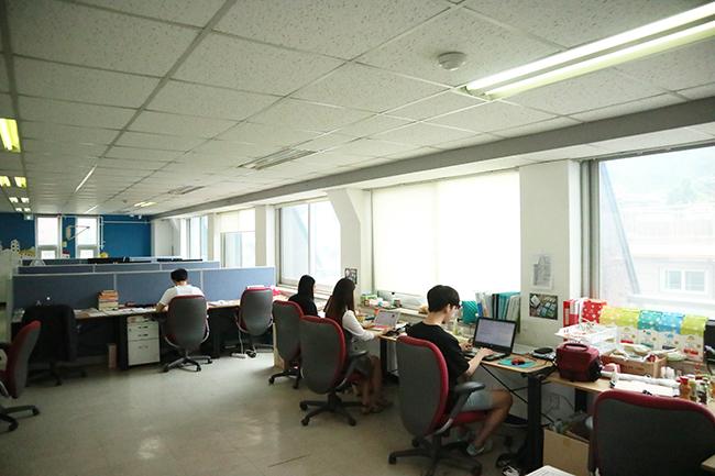 카우카우가 일하고 있는 사회적기업가 육성사업 인큐베이팅센터