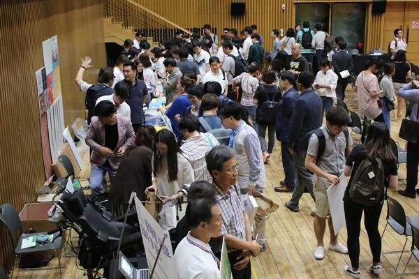 정말 많은 사람들이 사회적기업에 관심을 가지고 행사에 참여했다