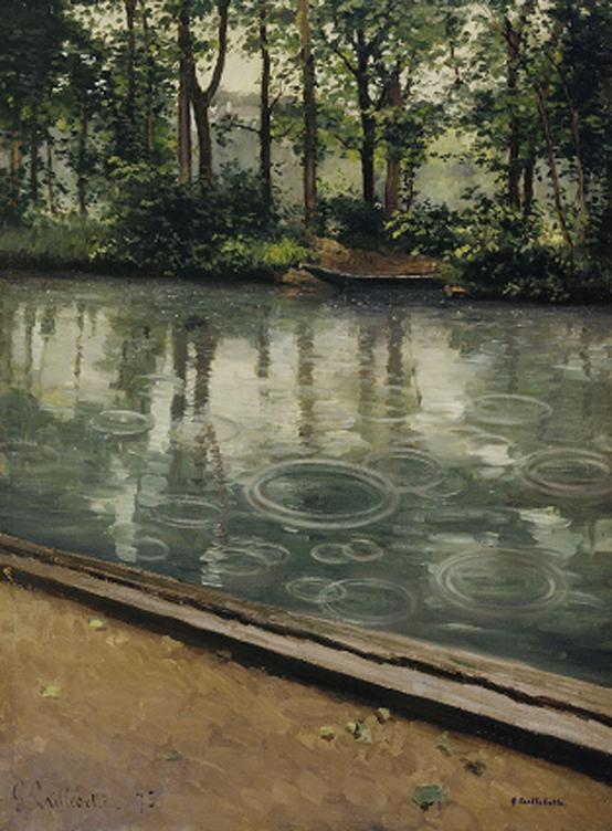 구스타브 카유보트 <예레스, 비> 캔버스에 유채, 1875, 81×59cm. 인디애나 미술관, 블루밍턴