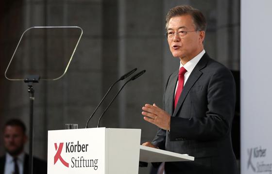 북핵 평화적 해결…한반도 신경제지도 구상 본격화