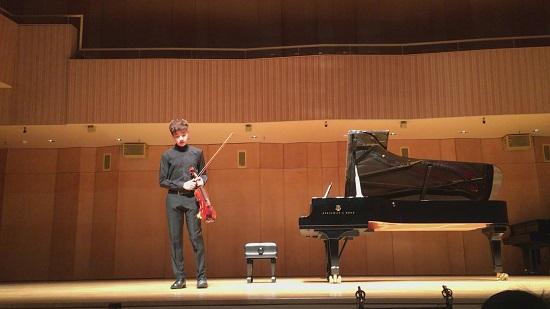 바이올리니스트 리처드 조는 조지아 필하모닉, 아틀란타 커뮤니티 오케스트라 등 유수의 오케스트라와 협연