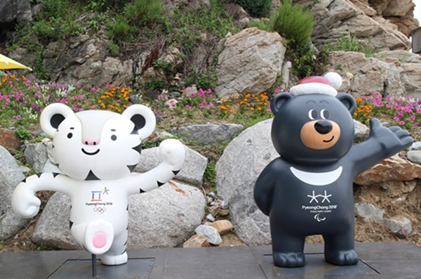 평창동계올림픽 마스코트 수호랑 반다비.