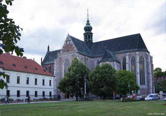 성 토마스 수도원. 야나체크는 이곳에서 소년성가대원으로 있었다.