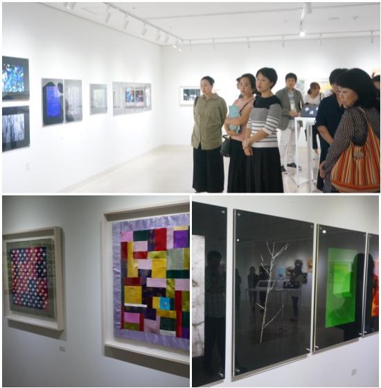 대학로 이음센터 갤러리에서 열린 생활문화동호인들의 작품 기획 전시