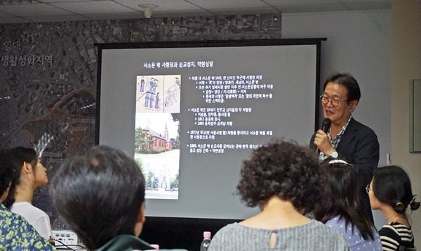 지역과 도시,재생 등 다양한 강의를 한다.